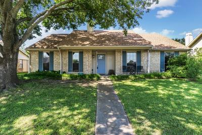 Garland Single Family Home Active Option Contract: 4718 Bayport Drive