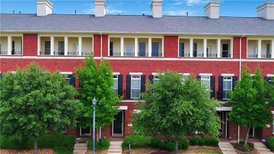Frisco Townhouse For Sale: 8234 Library Street