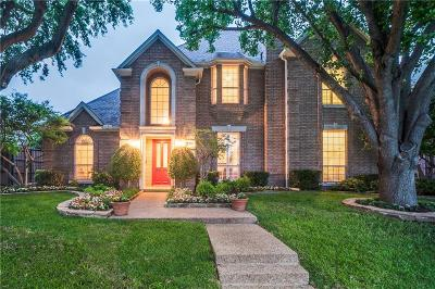 Plano Single Family Home Active Option Contract: 5021 Albany Drive