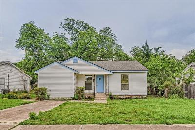Grand Prairie Single Family Home Active Option Contract: 906 10th Street