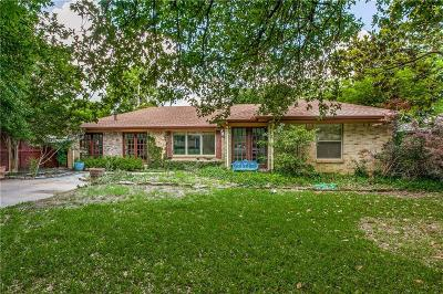 Dallas County Single Family Home For Sale: 8710 Lockhaven Drive