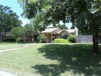 Lewisville Single Family Home Active Option Contract: 705 Thrush Court
