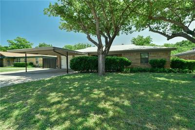 Richland Hills Single Family Home Active Option Contract: 2736 Ash Park Drive