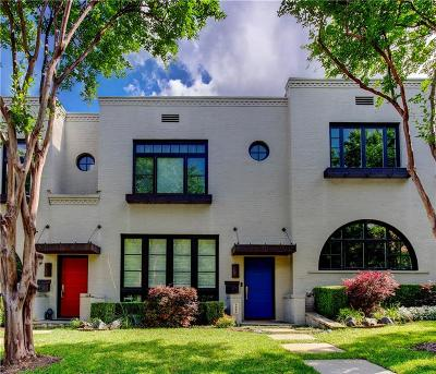 Fort Worth Townhouse For Sale: 3319 W 6th Street