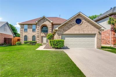 Flower Mound Single Family Home Active Option Contract: 2137 Lakeway Terrace