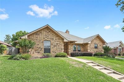 Euless Single Family Home Active Option Contract: 508 Allen Drive