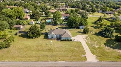 Waxahachie Single Family Home Active Option Contract: 1211 Butcher Road