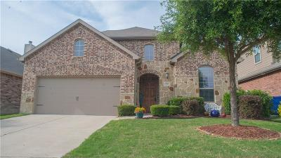 Little Elm Single Family Home For Sale: 1501 Toucan Drive