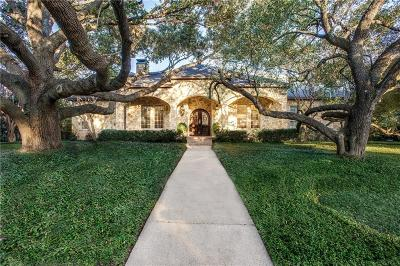 Dallas Single Family Home For Sale: 10964 Crooked Creek Drive