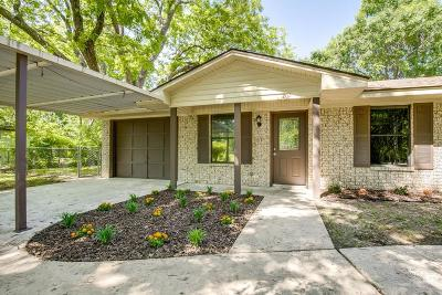 Terrell Single Family Home Active Option Contract: 202 W Goss Street