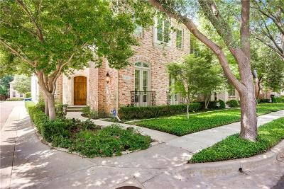 Dallas County Townhouse For Sale: 3819 Hawthorne Avenue