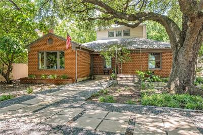 Dallas Single Family Home For Sale: 4503 Pomona Road