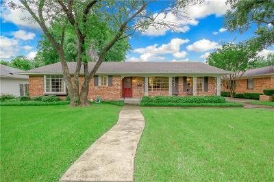 Dallas County Single Family Home For Sale: 4156 Willow Grove Road