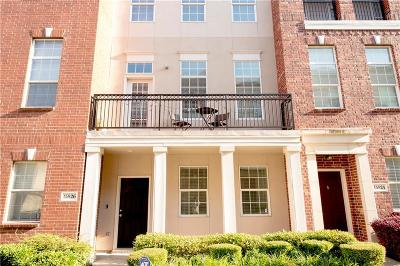 Addison Townhouse For Sale: 15826 Breedlove Place #143