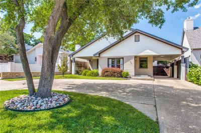 Fort Worth Single Family Home For Sale: 4724 Lafayette Avenue