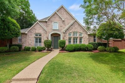 Richardson Single Family Home Active Option Contract: 2701 Cherry Court