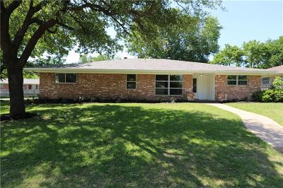 Sherman Single Family Home For Sale: 820 Hillside Drive