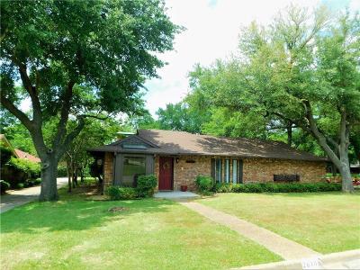Sherman Single Family Home For Sale: 2610 Turtle Creek Drive