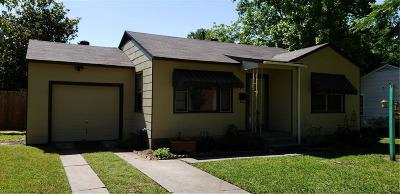 Fort Worth Single Family Home Active Option Contract: 4929 Dilworth Court