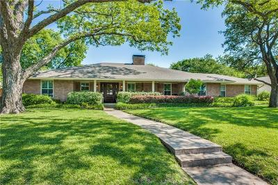 Dallas Single Family Home For Sale: 7124 Midbury Drive