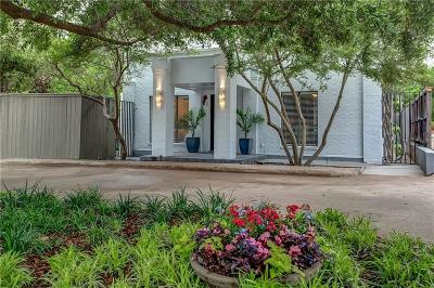 Fort Worth Single Family Home For Sale: 3433 W 4th Street
