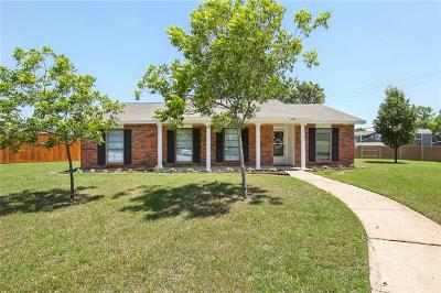 Plano TX Single Family Home Active Option Contract: $259,900