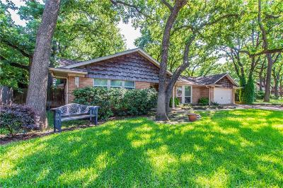 Irving Single Family Home Active Option Contract: 1510 Post Oak Drive