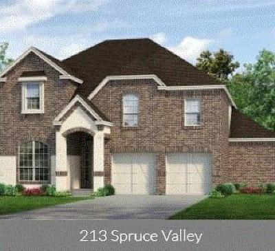 Justin Single Family Home For Sale: 213 Spruce Valley Drive