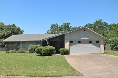 Grand Prairie Single Family Home Active Option Contract: 1710 Clifton Court