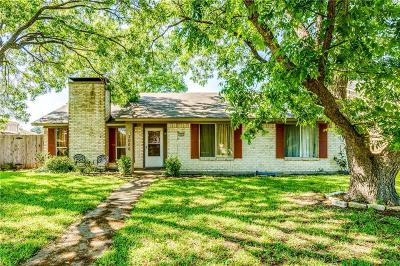 Garland Single Family Home For Sale: 3006 Shenandoah Drive
