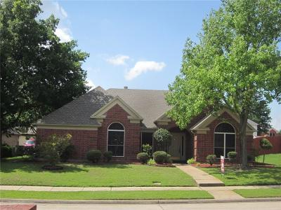 Lewisville Single Family Home Active Option Contract: 1342 Summertime Trail