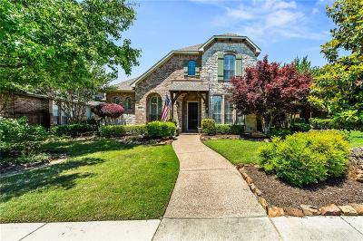 Allen Single Family Home Active Contingent: 1109 Neches Drive