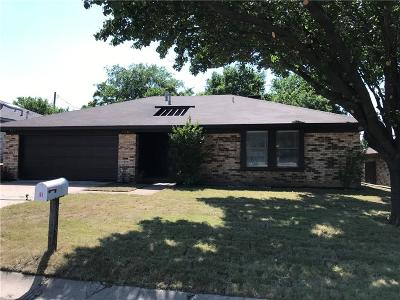 Frisco Single Family Home Active Option Contract: 9791 Camfield Road
