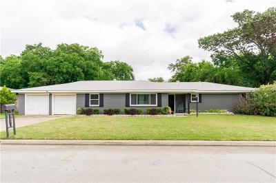 Richland Hills Single Family Home For Sale: 7601 Richland Road