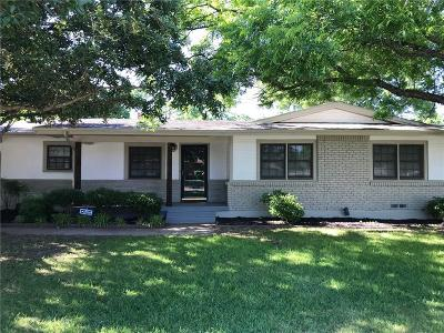 Richland Hills Single Family Home For Sale: 7015 Brooks Avenue
