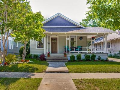 Fort Worth Single Family Home For Sale: 1917 6th Avenue