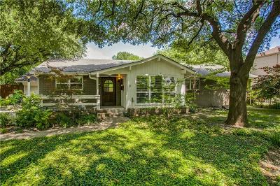 Dallas Single Family Home For Sale: 11342 Valleydale Drive