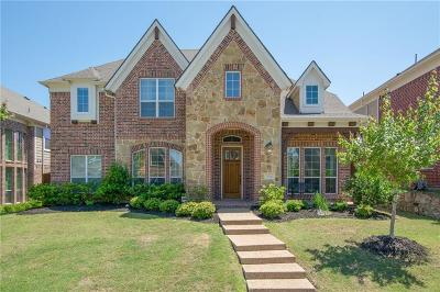 Plano TX Single Family Home Active Option Contract: $439,000