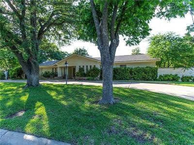 Fort Worth Single Family Home For Sale: 4200 Altura Road