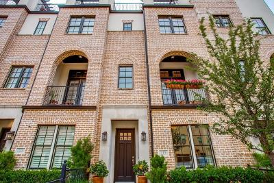 Irving Townhouse For Sale: 719 Will Rice Avenue