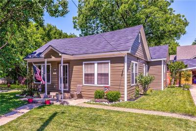 Grapevine Single Family Home For Sale: 415 S Dooley Street