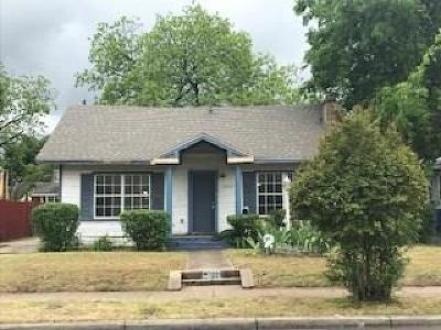 Dallas Single Family Home For Sale: 1026 Strickland Street