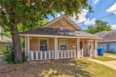 Dallas Single Family Home For Sale: 3618 Colonial Avenue