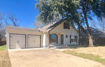 Fort Worth Single Family Home For Sale: 2512 Purselley Avenue