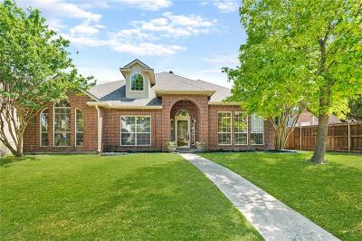 Plano Single Family Home Active Option Contract: 1424 Newbury Lane