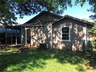 Fort Worth Single Family Home For Sale: 2717 Townsend Drive