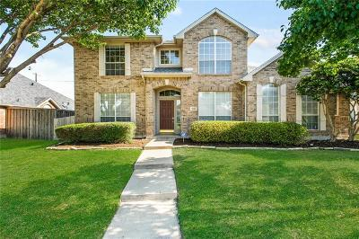 Rockwall Single Family Home Active Option Contract: 2540 Daybreak Drive