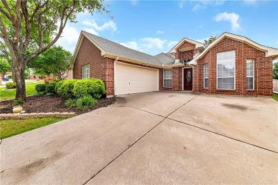 Keller Single Family Home Active Option Contract: 608 Wyndham Circle