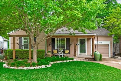 Dallas County Single Family Home For Sale: 9013 Forest Hills Boulevard