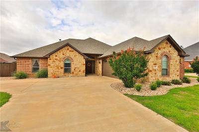 Abilene Single Family Home Active Contingent: 3901 Hill Country Drive